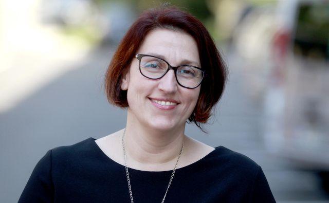 Danijela Mrhar Prelić izpostavlja, da zgolj strogo kaznovanje obsojencev ni rešitev. Foto Roman Šipić