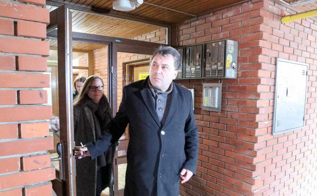 Sodnik Zvjezdan Radonjić je kot pritisk doživel tudi sicer neuspešen predlog tožilke Blanke Žgajnar za njegovo izločitev iz postopka proti Milku Noviču. FOTO: Marko Feist