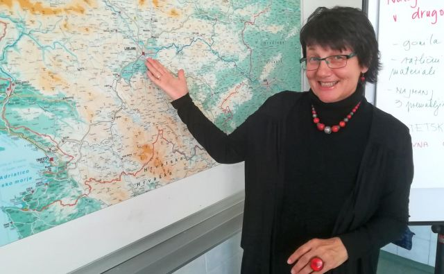»Slovenska šola je dobra šola, je pa seveda lahko še boljša,« je prepričana Marja Godler. FOTO: Mojca Boštele/Delo