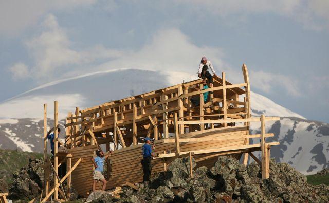 Moderna Noetova barka FOTO: Fatih Saribas Reuters