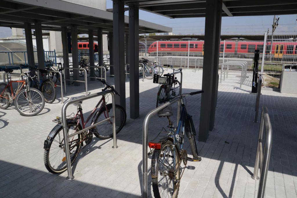 FOTO:Tudi kolo je treba nekje pustiti