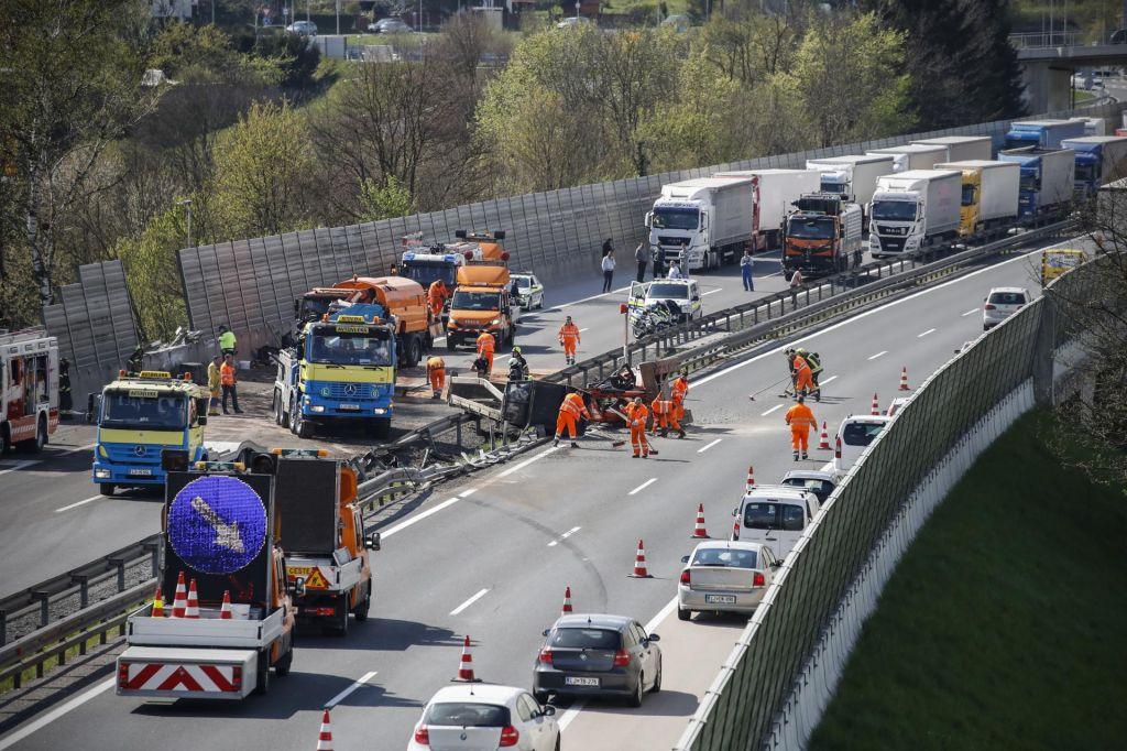 FOTO:Dolenjska avtocesta znova prevozna