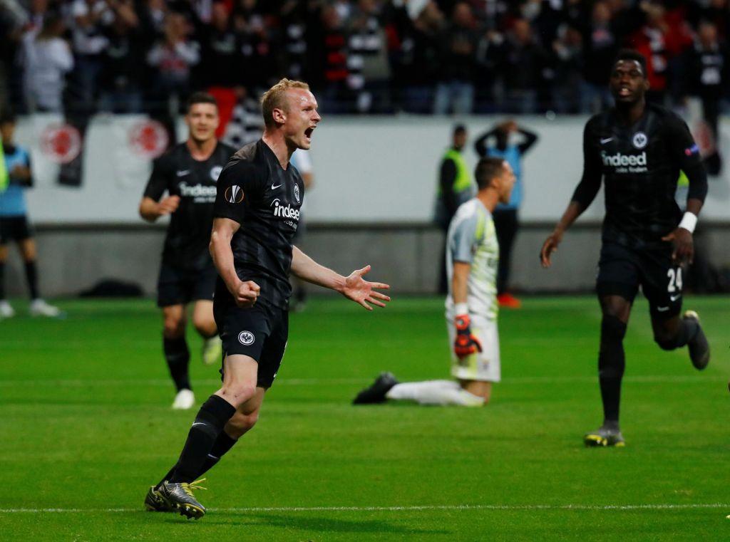 Eintracht Frankfurt po 39 letih v polfinalu