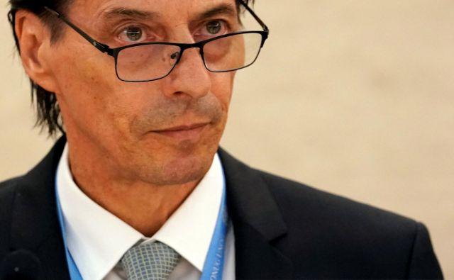 Vojislav Šuc, dolgoletni karierni diplomat, je znan tudi kot goreč zagovornik enakosti med spoloma. Foto Denis Balibouse Reuters