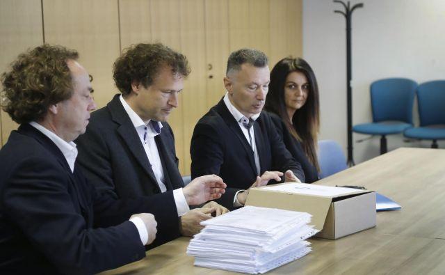 V stranki se zavzemajo za manj birokracije in populizma ter aktivnejšo vlogo Slovenije v evropski skupnosti. FOTO: Leon Vidic/Delo<br />