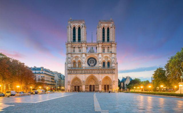 Katedrala Notre Dame v Parizu pred požarom. FOTO: Shutterstock