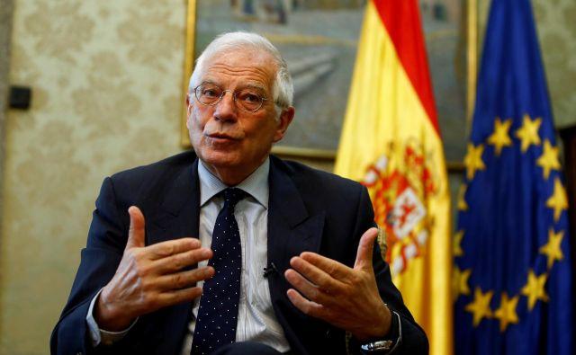 »Španija bo pomemben igralec v Evropski uniji in bo med glavnimi državami, ki bodo po brexitu vodile bolj integrirano Evropo,« je za <em>Delo</em> dejal zunanji minister Josep Borrell. Foto: Reuters