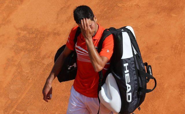 Pri Novaku Đokoviću je po zmagi na OP Avstralije sledil velik padec. FOTO: AFP