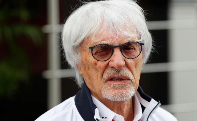 Bernie Ecclestone je tudi na sklepanje poslov gledal kakor na tekmovanje. »Več ko sem iztržil, bolje sem se počutil.« FOTO: Reuters