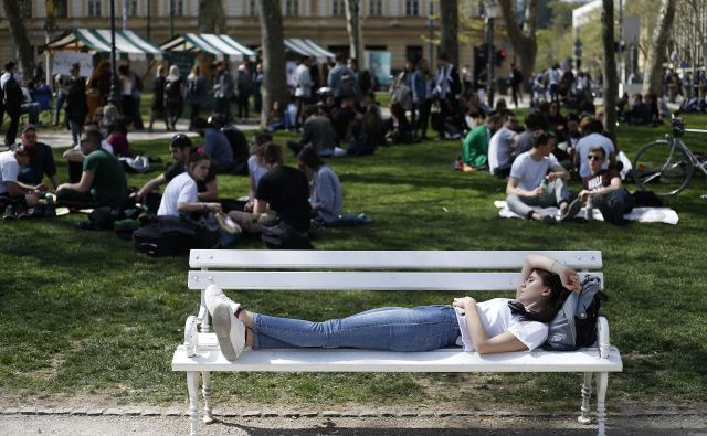 V Ljubljani so znova pripravili Marihuana marš. FOTO: Bla�ž Samec
