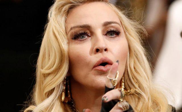 Madonna Louise Veronica Ciccone se je rodila leta 1958 italijanskim priseljencem v ZDA. FOTO: Lucas Jackson/Reuters