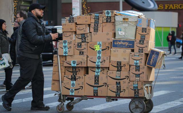 E-trgovina je glavno gonilo v dejavnosti dostave paketov. Foto: Reuters