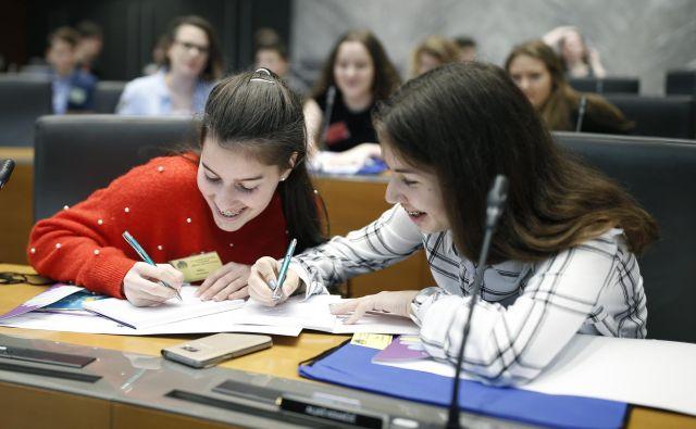 Šolarja mora zanimati predvsem kakovost znanja, ki mu ga izobraževalna ustanova lahko ponudi. FOTO BlaŽ� Samec