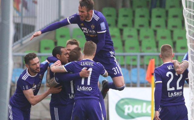 O zmagi Maribora tokrat ni bilo dvoma. FOTO: Tadej Regent/Delo