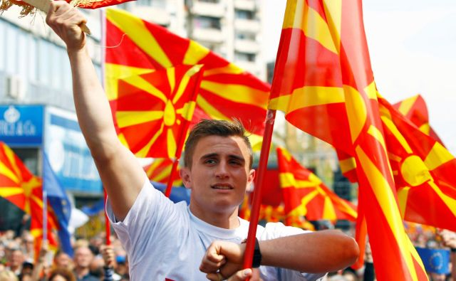 Novega predsednika države bo v prvem krogu volilo 1,8 milijona volivcev. Foto: Ognen Teofilovski/Reuters