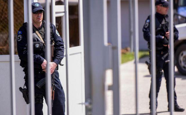 Kosovska policija FOTO: Armend Nimani/AFP