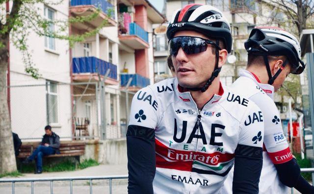 Jan Polanc je odlično dirkal v Turčiji. FOTO: UAE Team Emirates