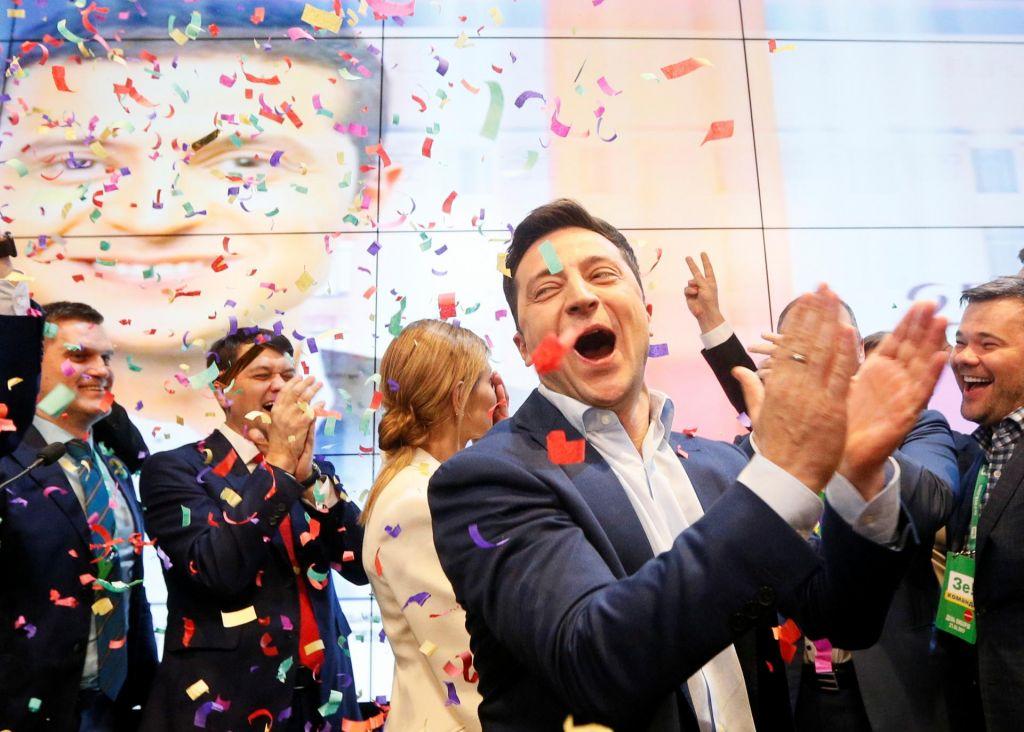 FOTO:Komik je postal novi predsednik Ukrajine
