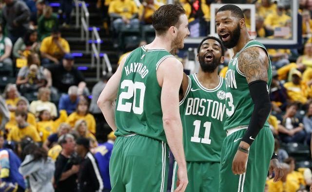Boston je s 17 naslovi prvaka najuspešnejše moštvo v zgodovini, en naslov manj imajo na drugem mestu Los Angeles Lakers. FOTO: Usa Today Sports