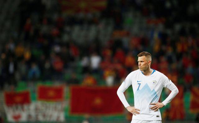 Josip Iličić je ta čas najbolj razigran slovenski reprezentant. FOTO: Reuters