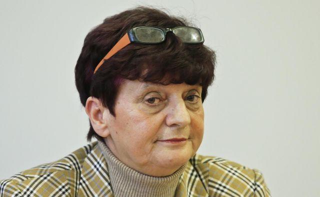 Za zdaj kaže, da bo Zlatka Srdoč Majer svojo kariero končala kot direktorica. FOTO: Jože Suhadolnik/Delo