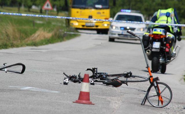 Kolesarji veljajo za ene najranljivejših udeležencev v prometu (simbolična fotografija). FOTO: Špela Ankele/Delo