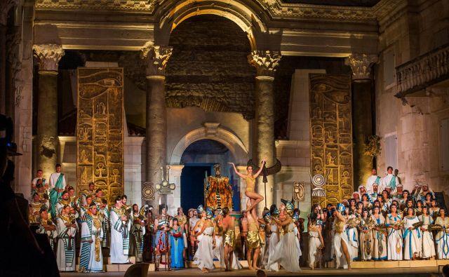 Opera Aida bo na Kongresnem trgu izvedena v koprodukciji Festivala Ljubljana s HNK Split, Slovensko filharmonijo ter SNG Maribor.