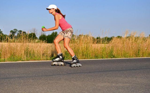 Rolanje je lahko oddih ali šport v naravi. FOTO: Shutterstock