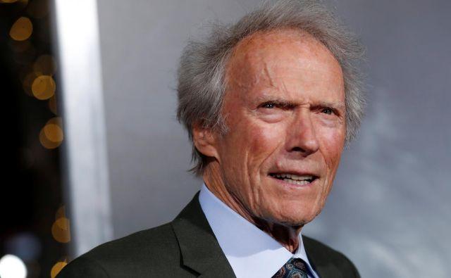 Clint Eastwood je nazadnje posnel film Tihotapec, v katerem je tudi nastopil v glavni vlogi. FOTO: Mario Anzuoni /Reuters