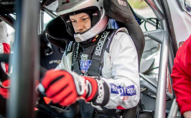 Prvi občutki Jana Medveda v novem dirkalniku so pozitivni. FOTO: Uroš Modlic
