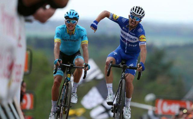 Julian Alaphilippe je letos že dobil Strade Bianche, Milano Sanremo in zdaj še Valonsko puščico. FOTO:Deceuninck QuickStep