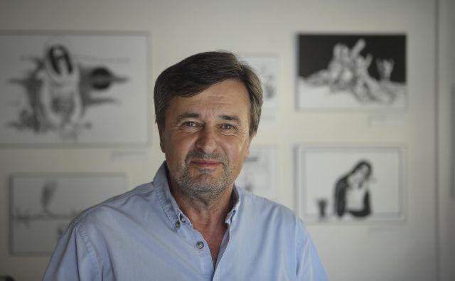 Janoš Kern je pred kratkim postal predsednik kulturniške zbornice in napovedal drugačne čase. Foto Jože Suhadolnik