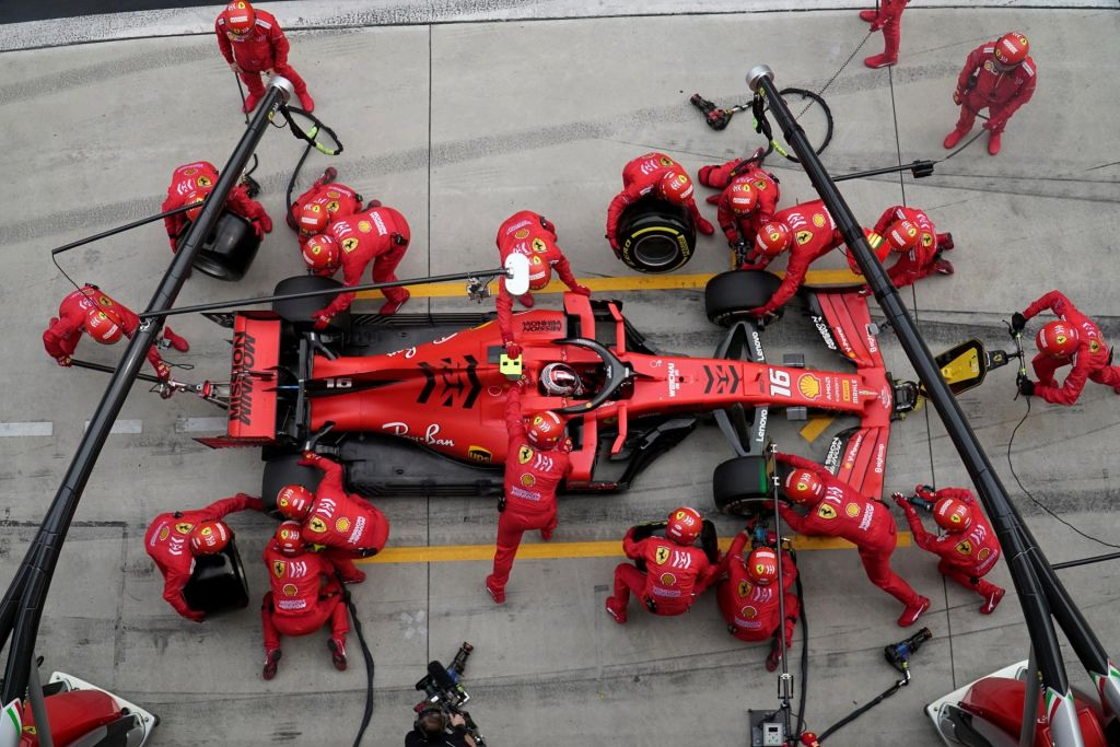 Krizni ukrepi v Ferrariju pred VN Azerbajdžana
