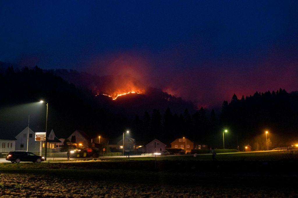 Suho vreme v Skandinaviji povzročilo številne požare