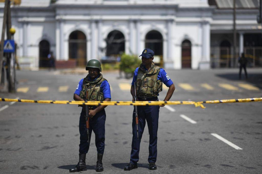 FOTO:Od srede do srede: O napadih na Šrilanki