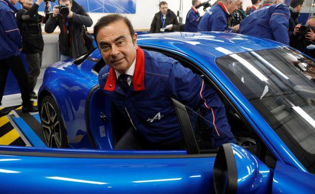 Carlos Ghosn FOTO: Charles Platiau/Reuters