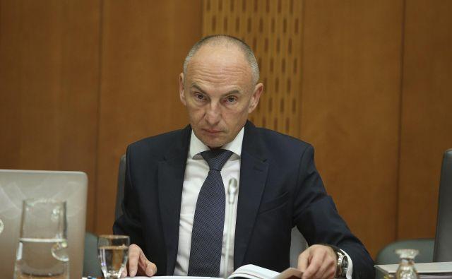 Minister za zdravje Aleš Šabeder FOTO: Jože Suhadolnik/Delo
