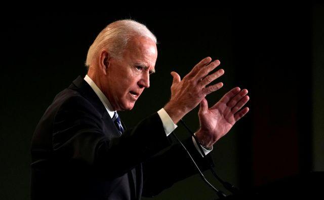 Joe Biden FOTO: Kevin Lamarque/Reuters