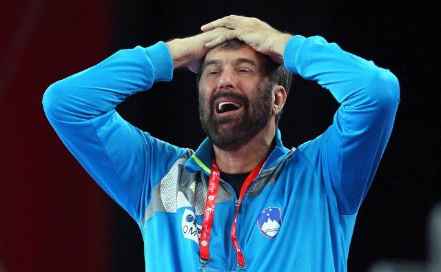 Veselin Vujović je znan po tem, da ga pogosto premagajo čustva. FOTO: Reuters