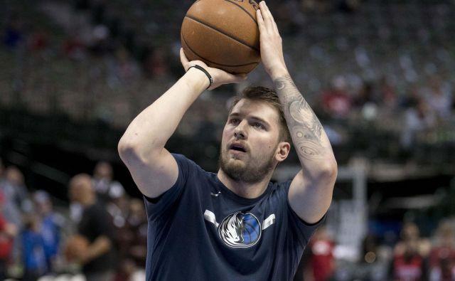 Luka Dončić, magnet za ljubitelje košarke in širšo publiko, je eden od zvezdnikov, zaradi katerih je liga NBA med gledalci zunaj ZDA še bolj priljubljena. FOTO: Usa Today Sport