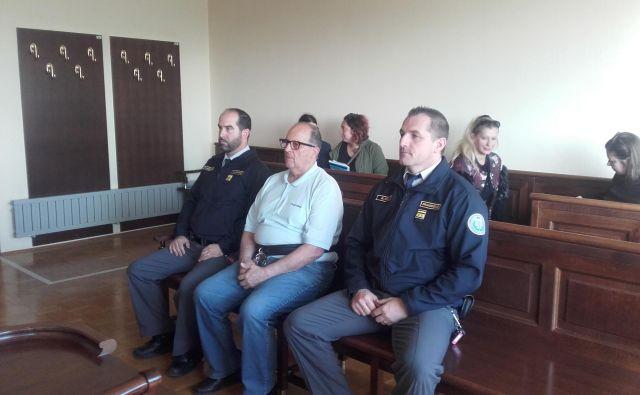 Marko Matić je danes sedel pred sodnika. FOTO Nataša Čepar