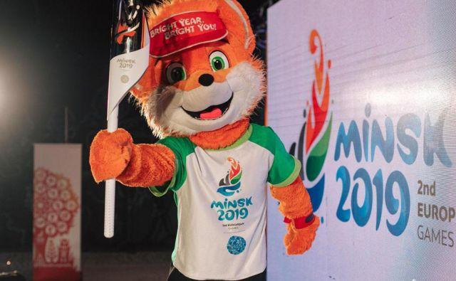 Bakla evropskih iger bo v stotih dneh prepotovala 2500 kilometrov. Njen cilj bo Minsk, kjer bodo med 21. in 30. junijem evropske igre. FOTO: Eurolympic.org