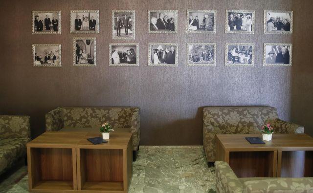 Hotel Brdo je gostil številna najvišja imena svetovne politike. FOTO: Uroš Hočevar/Delo