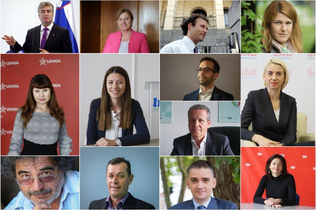 FOTO:Kandidati za osem mest v trdnjavi Evropa