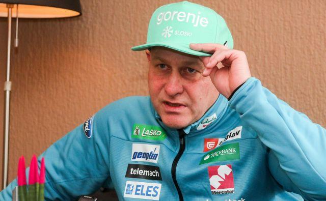 Goran Janus želi poskrbeti še za vzpon nordijskih kombinatorcev. FOTO: Marko Feist