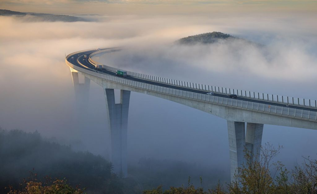 FOTO:Za most, kot je pelješki, je prehodil vse stopnice