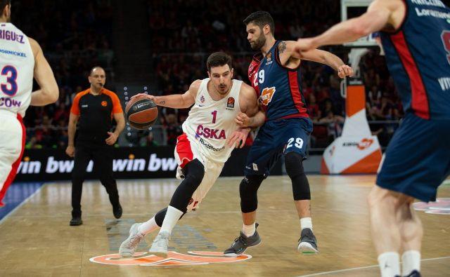 Nando de Colo je dosegel 27 točk ob zmagi CSKA. FOTO: Euroleague