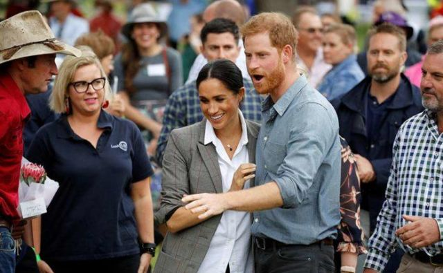Meghan in Harry. FOTO Reuters