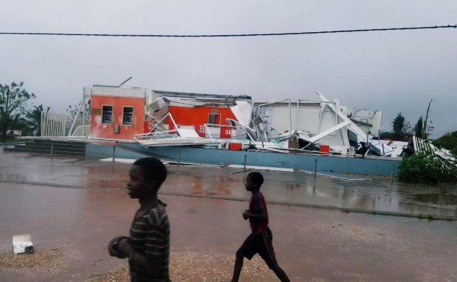 Zaradi ciklona Kenneth so v pripravljenosti tudi v Tanzaniji. FOTO: Social Media Solidarmed