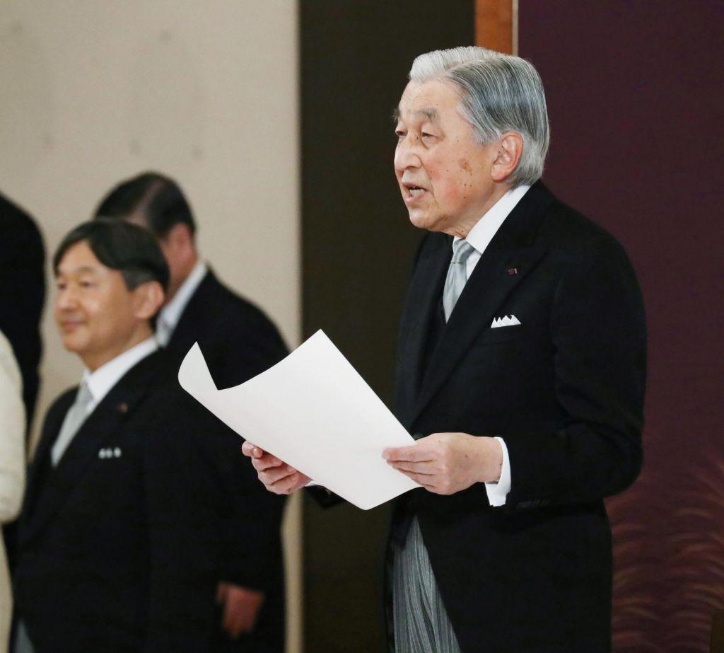 FOTO:Kakšna sporočila je Akihito poslal človeštvu?